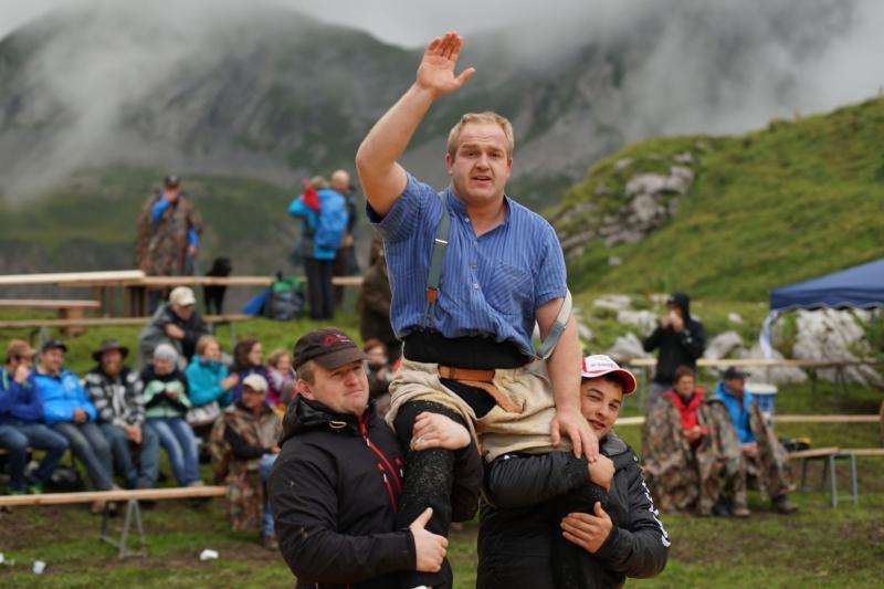 Thomas Zaugg, Sieger vom Fruttschwinget 2014