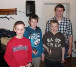 Gewinner Jungschwingercup mit Betreuer Thomas Amgarten